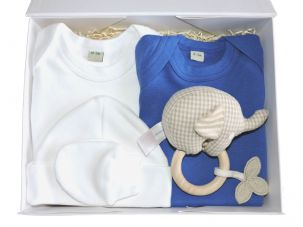 Little Boy Blue Baby Gift Box